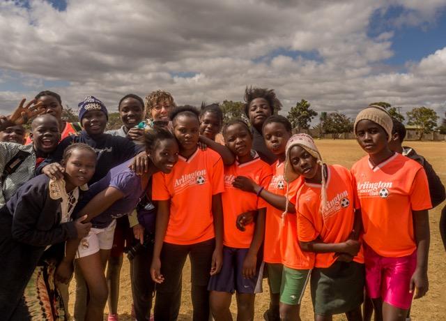 Arlington Soccer Club represented in Zambia