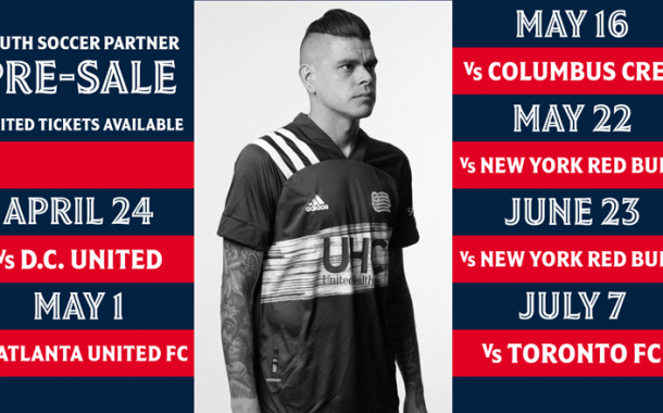 New England Revolution - Exclusive YS Partner Pre-Sale!