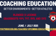 Grassroots Coaching Courses - June/July 2021